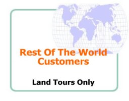 tours for world customers